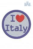 321 Ricamo 11 I love Italy